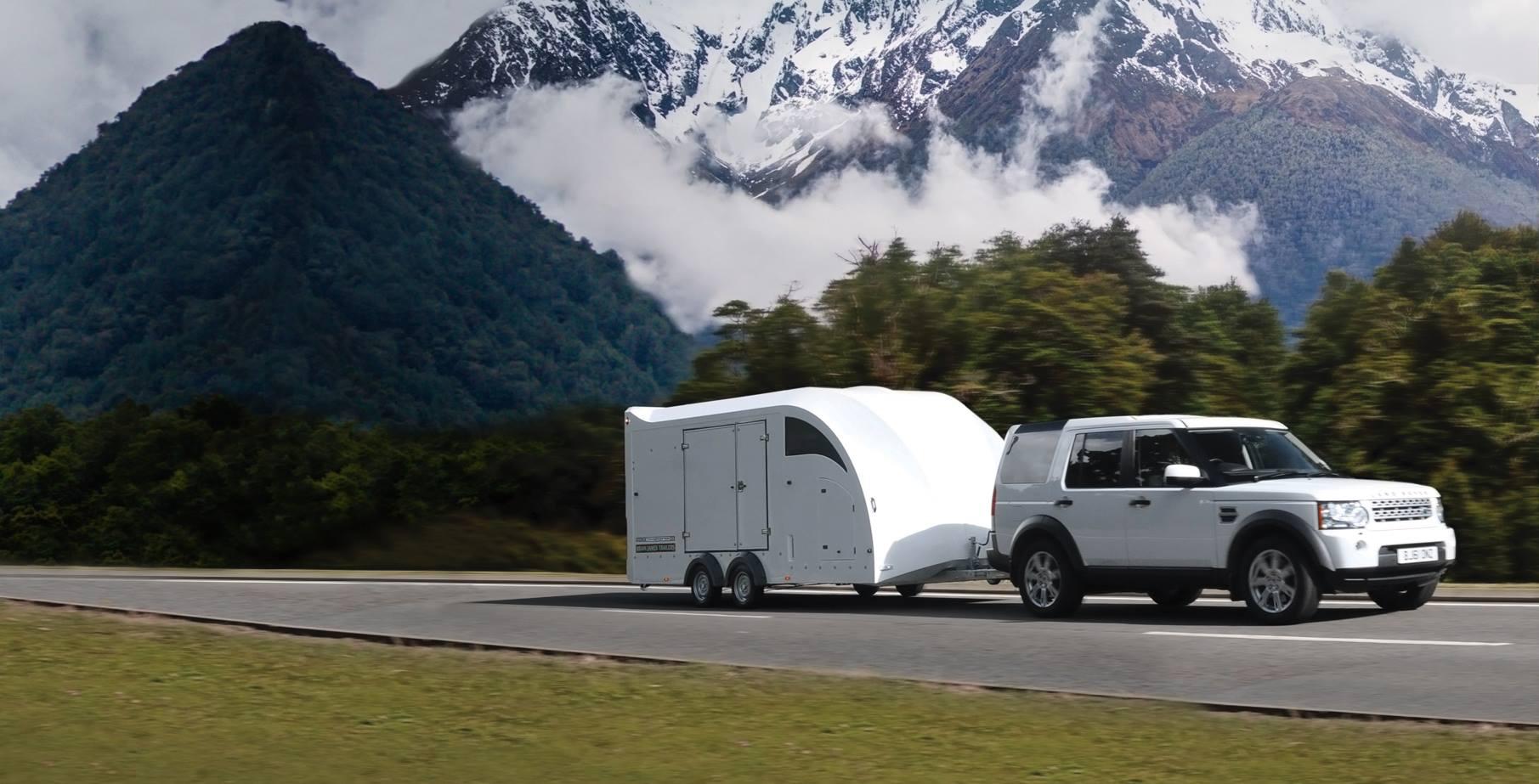 enclosed transport trailer for cars