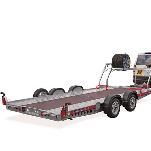 A4 Trailer transporter with tyre rack