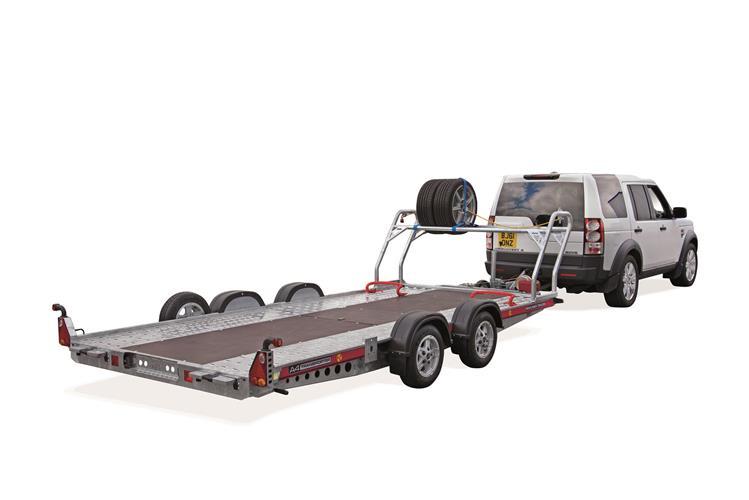 Brian James Trailer - A4 Transporter