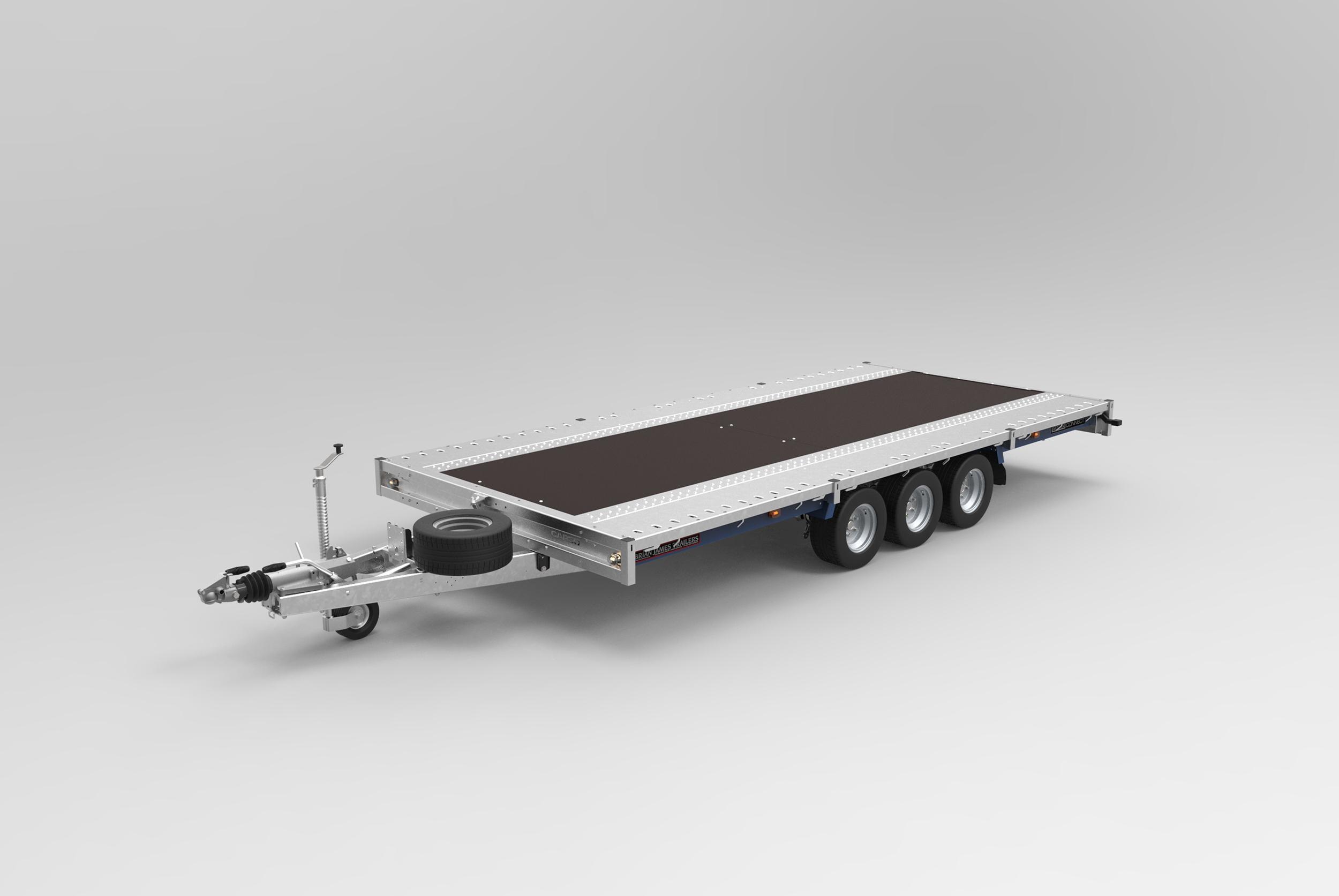 BJT flat deck trailer