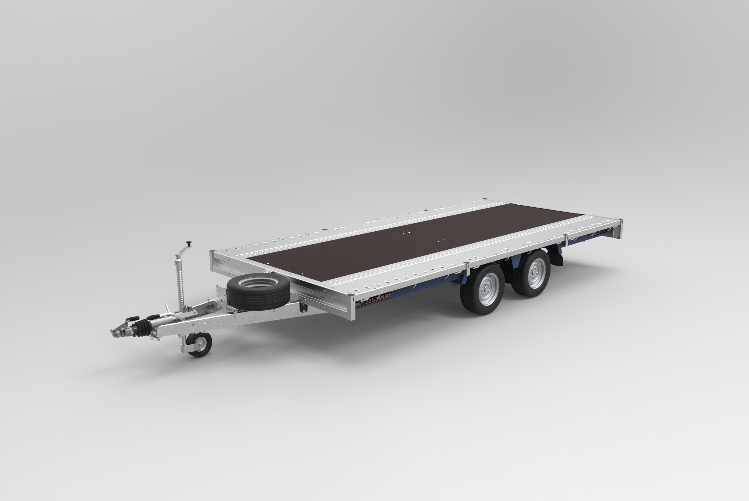 CarGo Connect, BJT, Twin Axle flat deck trailer