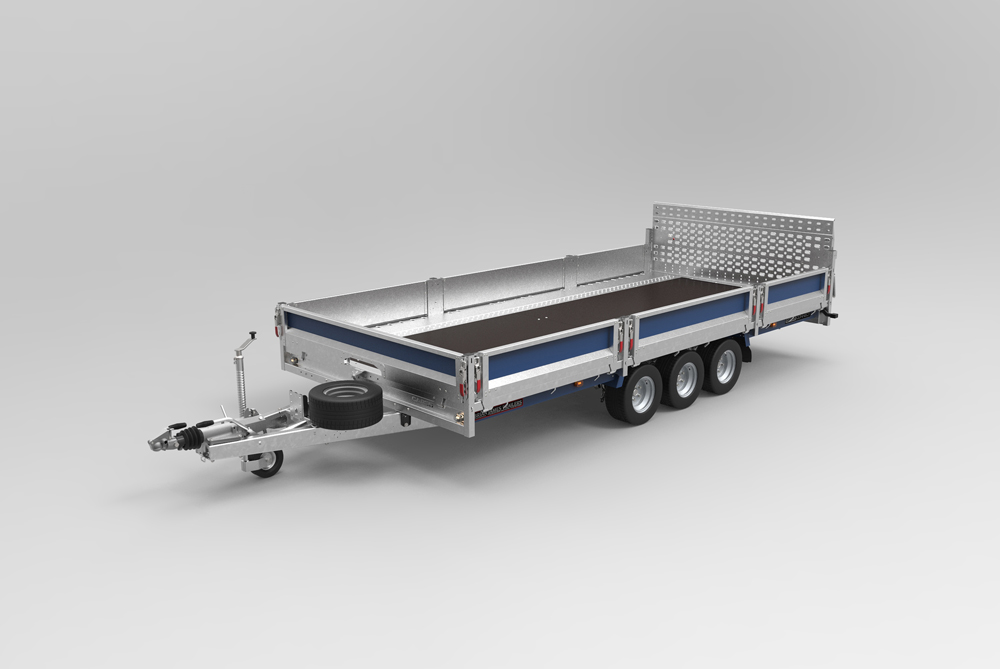Cargo Connect plant flat deck trailer