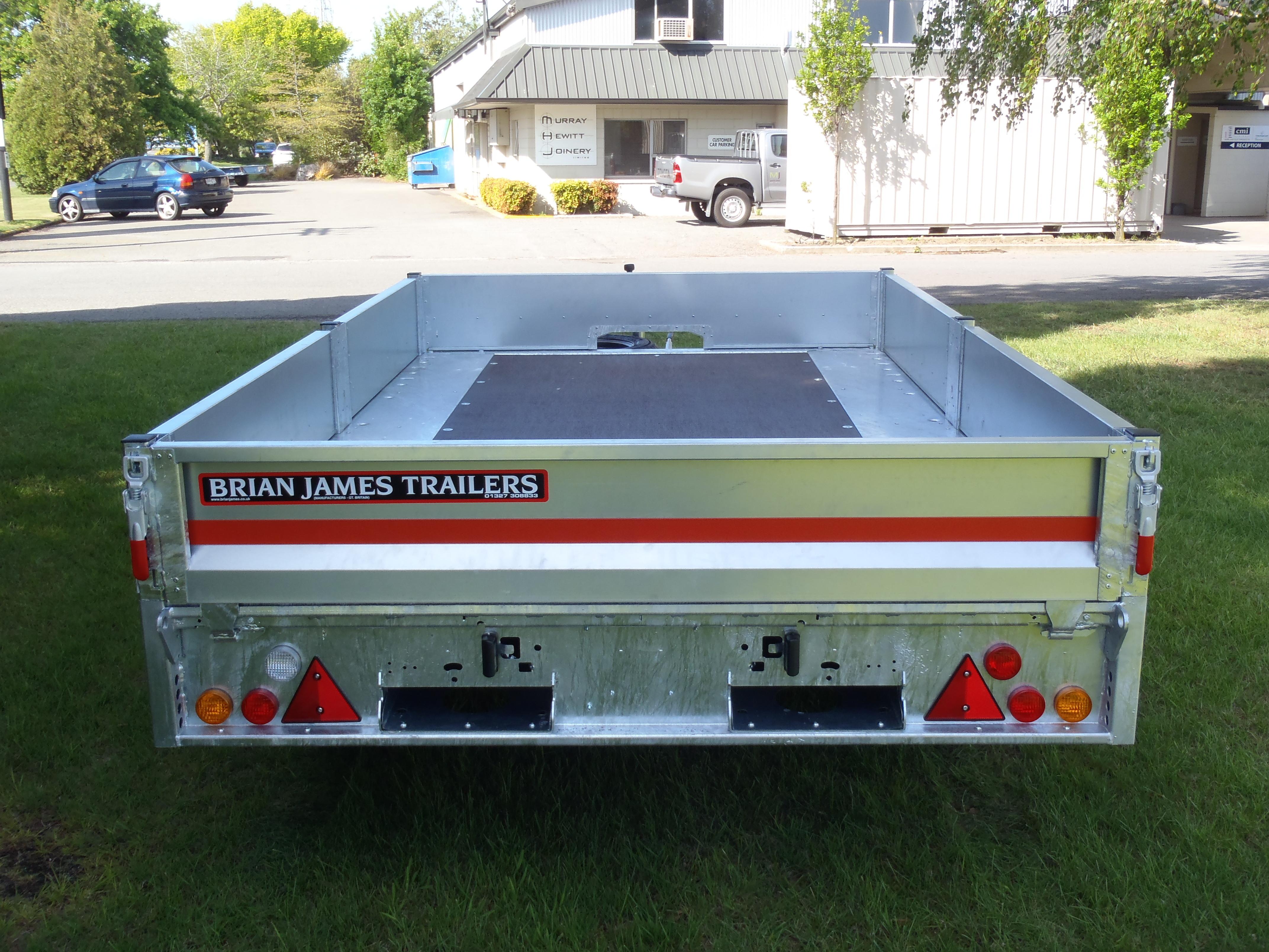 Brain James Trailers - transport flat deck trailer
