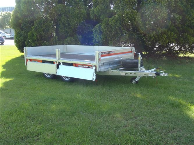 BJT - Flat Deck trailer side open