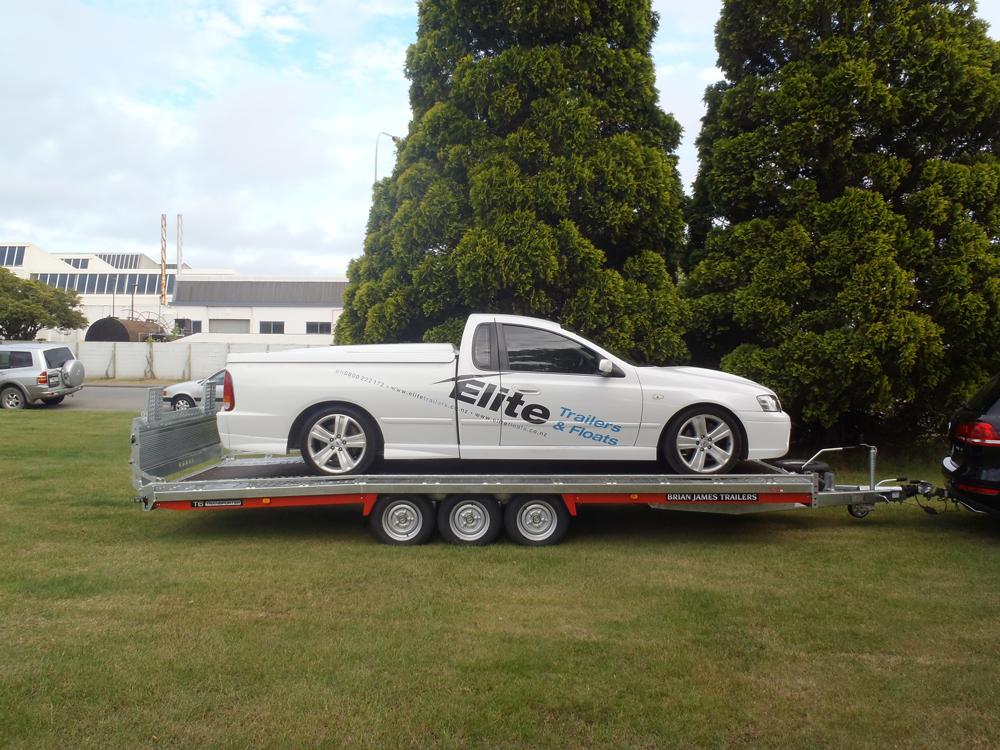 Car Transport Trailer - in situ