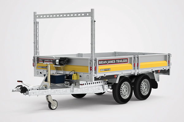 car-go tipper trailer
