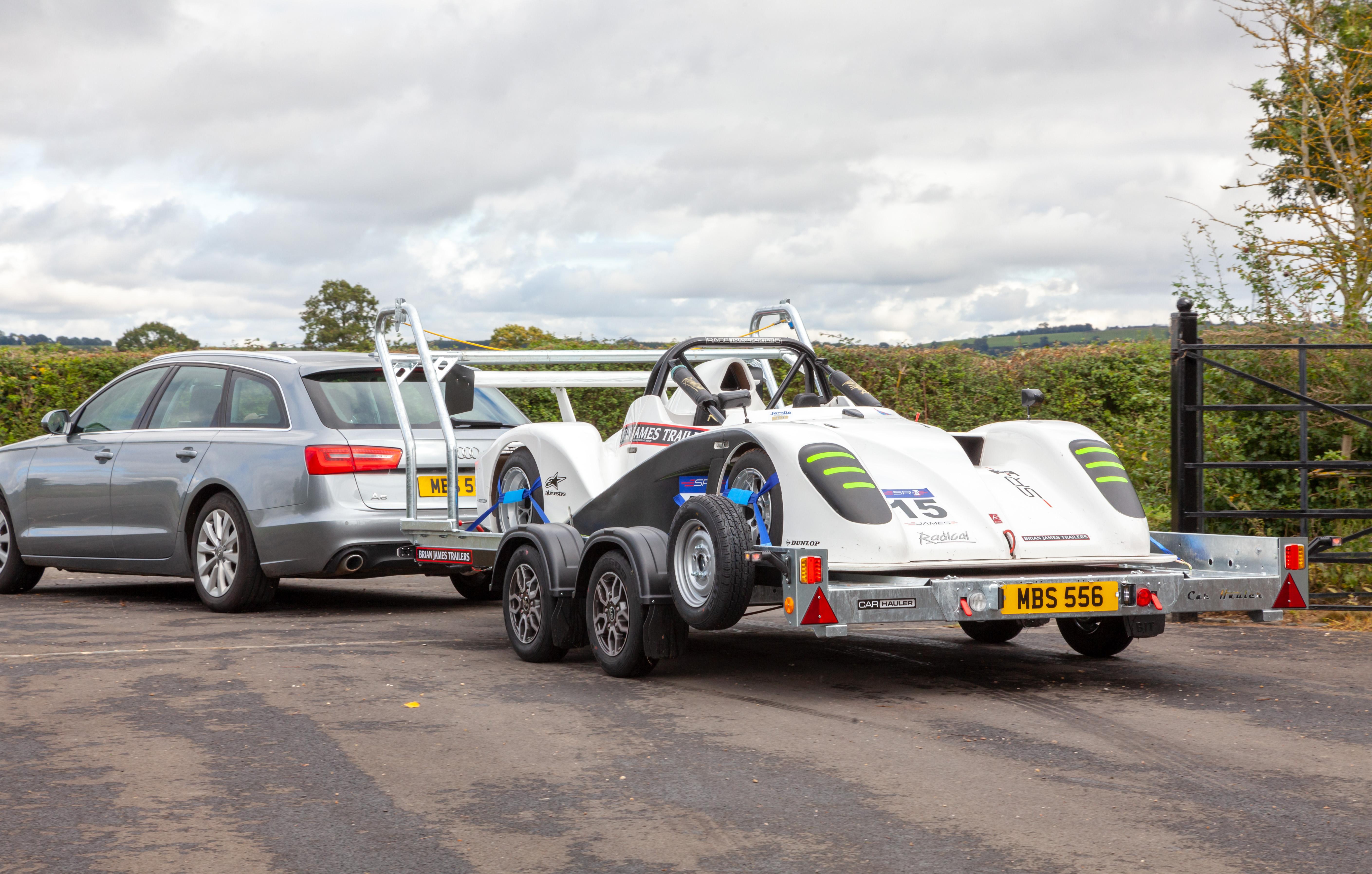 Race Sports Car Trailer Transporter - Brian James