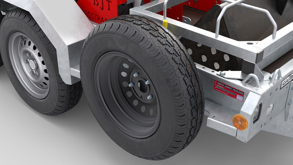 Brian James Trailer Wheel