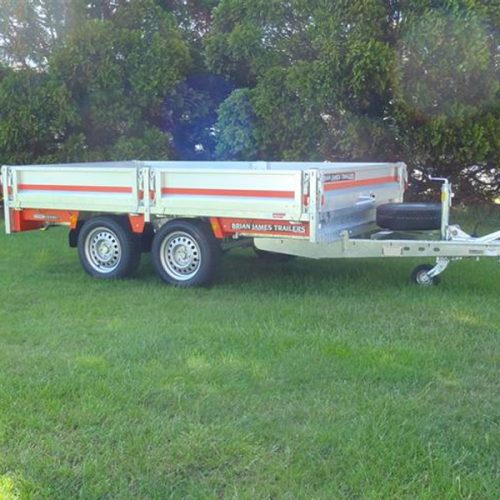 flat deck trailer for cars