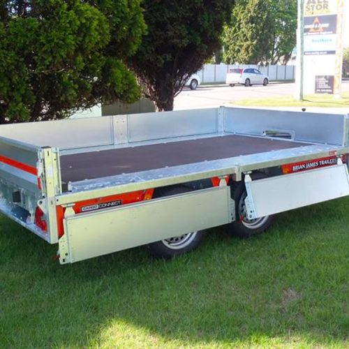 CarGo Connect flat deck trailer sides
