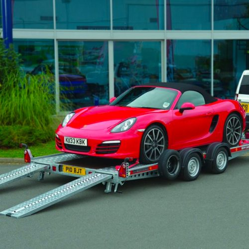 Porsche sports car transportation