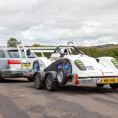 Race Sports Car Trailer Transporter - Brian James